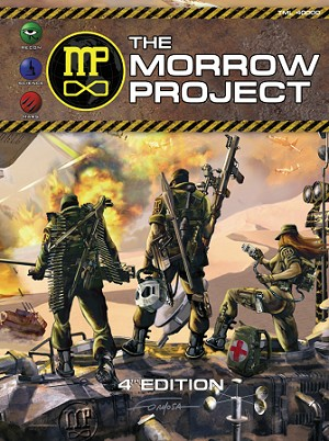 The Morrow Project Game Book 4th. Ed. Hardback